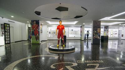 El nuevo museo de Cristiano Ronaldo en Madeira abrió sus puertas