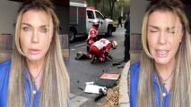"""""""Tiene destrozadas las piernas"""": Sabine Moussier pide justicia para hombre atropellado"""