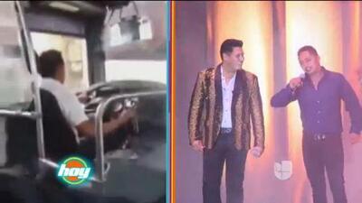 Perdió un amor, pero se hizo famoso: este chofer pasó de cantar en su bus a hacerlo con Banda MS