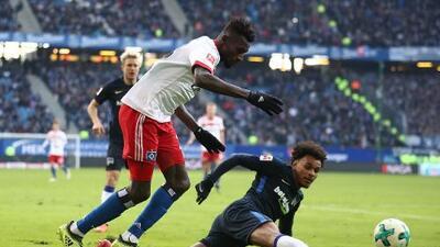 Hamburgo cae ante el Hertha y está más cerca del descenso