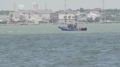 Guardia Costera intensifica la búsqueda de un hombre desaparecido en las aguas de Kemah