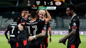 PSV, Milan y Tottenham están cerca de la Fase de Grupos de la UEL