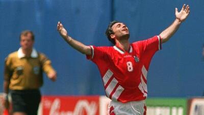 Recuerdos del Mundial de USA 1994: los rezos de Hristo Stoichkov para ganar algo importante