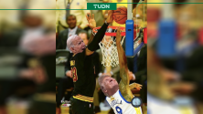 Celebra LeBron James derrota de Donald Trump