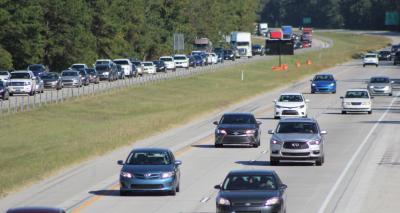 Comienza el tránsito en contravía en la I-16 para los evacuados por el huracán Dorian