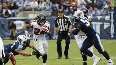 Falcons 10-7 Tennessee: Las 116 yardas de Freeman fueron la diferencia sobre Titans