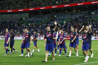 Barcelona vs Chelsea, en imágenes