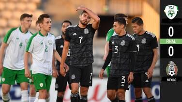 El Tri no pudo ante Irlanda en su segundo compromiso dentro del Maurice Revello