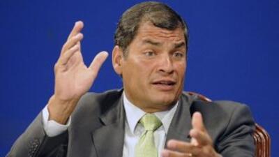 Correa niega haber recibido dinero de las FARC para campaña en Ecuador