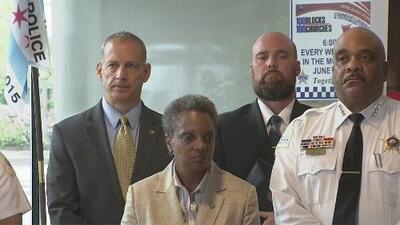 Inicia el plan de seguridad para reducir los índices de violencia en Chicago durante el fin de semana feriado