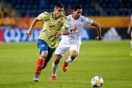 LUBLIN, POLAND - MAY 29: Juan Hernandez of Colombia in action during the FIFA U-20 World Cup match between Colombia and Tahiti on May 29, 2019 in Lublin, Poland. (Photo by PressFocus/MB Media/Getty Images)