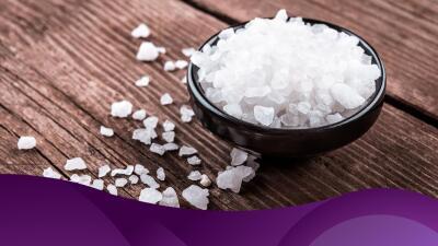 Cómo protegerte usando sal de mar