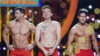 Brazos y six packs (casi): Pedro, Chyno y El Dasa sin camisa
