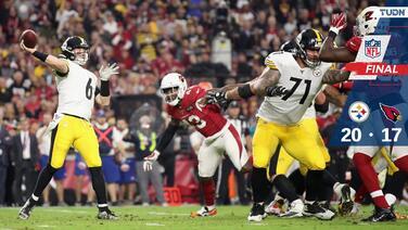 Los Steelers se 'adueñan' del estadio de los Cardinals y los vencen