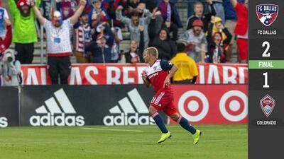 Michael Barrios encarrila el triunfo del FC Dallas ante Colorado Rapids