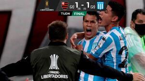 ¡Maracanazo! Racing echa al campeón Flamengo de Libertadores