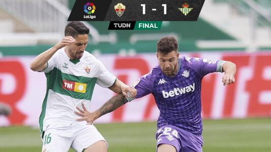 Real Betis deja ir triunfo y complica pelea por puestos europeos