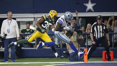 Los Cowboys despiertan con este genial pase de Dak Prescott a Dez Bryant