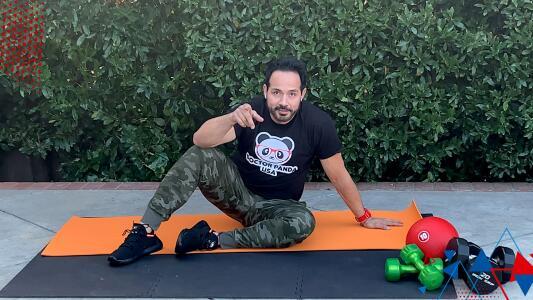 Reto de Omar y Argelia: Rutina de fortalecimiento de zona abdominal con Tony Tirado