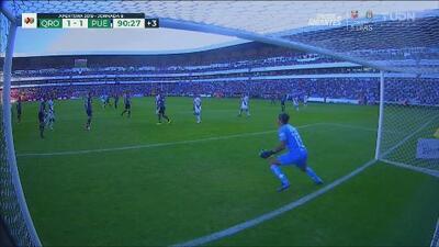 ¡Golazo que salva el empate! Pablo González anota el 1-1