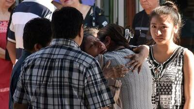 Fotos: Entierran a los muertos de la masacre en una fiesta familiar mexicana