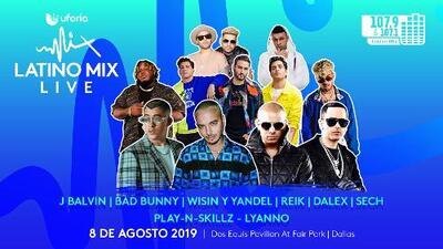 Uforia Latino Mix Live - Dallas