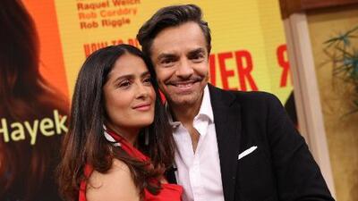#DAImperdibles: Eugenio Derbez y Salma Hayek quieren mostrar el poder latino en el estreno de 'How to be a Latin Lover'