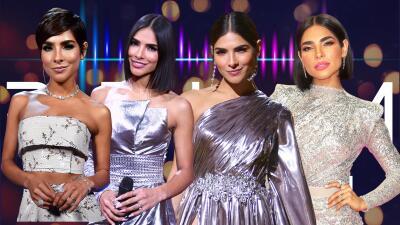 11 vestidos que confirman que Alejandra Espinoza prefiere brillar en plata