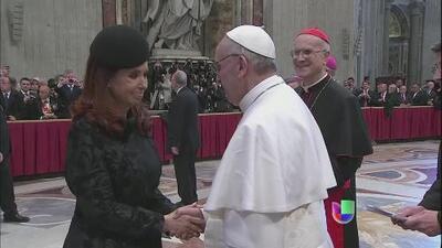 El papa Francisco inició su pontificado