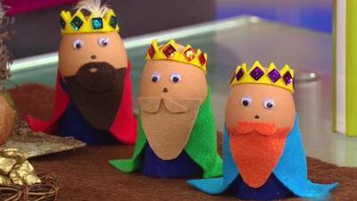 Manualidades para esperar la llegada de los 3 Reyes Magos