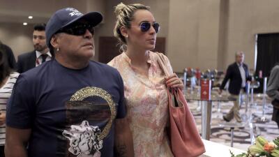 Rocío Oliva confirma boda con Diego Maradona