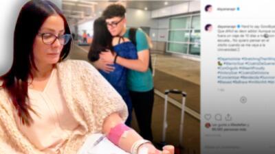 Dayanara Torres deja ver una cicatriz que le ocasionó su lucha contra el cáncer