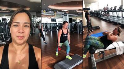 Adamari López tiene el mejor entrenador: así es un día de ejercicio junto a su esposo