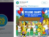 """Los Simpsons al Team USA: """"No es la Casa Blanca, pero bienvenidas campeonas"""""""