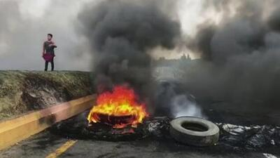 Protests erupt for sixth day in Ecuador over fuel subsidy cuts
