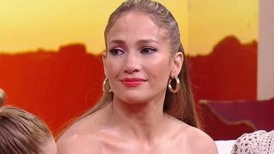 Jennifer López se emociona hasta la lágrima por el mensaje que recibió de una fan en Despierta América