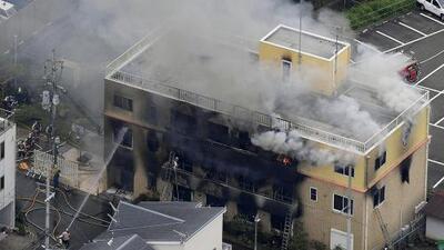 Al menos 33 personas mueren en un incendio aparentemente provocado en un estudio de anime en Japón
