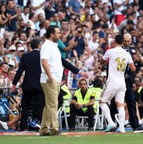 Otra baja en el Madrid: James Rodríguez también se lesiona