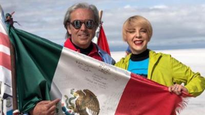 El video inédito de Edith González en fiestas patrias ¡Viva México!