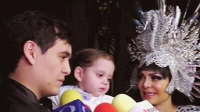 Junto a su hijo y nieto, Maribel Guardia aclara si le preocupa la edad ahora que cumplirá 60 años
