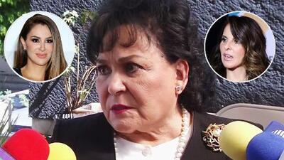 Carmen Salinas sale en defensa de Ninel Conde, pero arremete contra Kate del Castillo