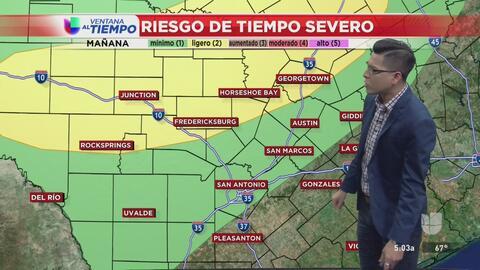 Cielos nublados y posibles lluvias para esta semana en Texas