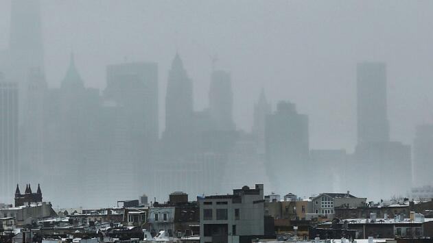 Lluvias esporádicas y probabilidades de nieve, el clima que se prevé para Nueva York este viernes