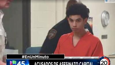 En Un Minuto Houston: Dos adolescentes enfrentan cargos de asesinato con posibilidad de pena capital por la muerte de otro joven