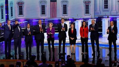 Los momentos más destacados del primer debate de precandidatos demócratas para la presidencia 2020