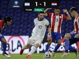 Argentina empata con Paraguay en la eliminatoria de Conmebol