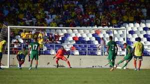 Benedetti y Balanta fueron titulares con Colombia Sub-23