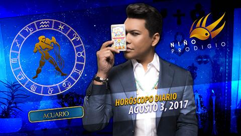 Niño Prodigio - Acuario 3 de agosto 2017