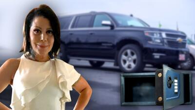 Ladrones vacían la caja fuerte de Alejandra Guzmán y se roban una de sus camionetas