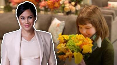Esto es lo que Meghan Markle hizo con las flores de su 'baby shower'